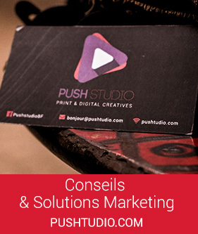 Push Studio, Agence en Conseil et Solutions Marketing